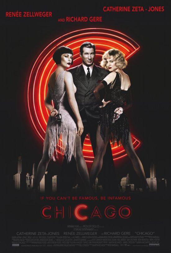 Chicago - Movie Musical...I saw this 2nd row on Broadway (the most amazing show I've ever seen and I've seen a lot), and I still thought the movie was EXCELLENT!