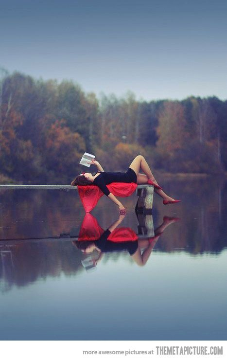 Reading in peace…dream life. Read more!