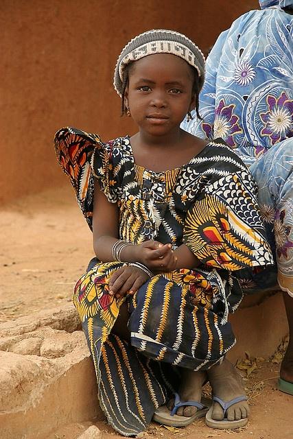 Africa | Hausa ragazza in un villaggio nel nord della Nigeria | © Gianluca Di Santo