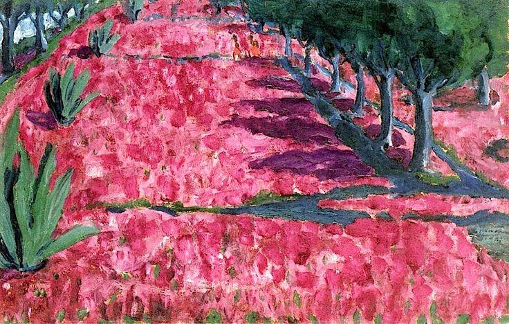 german-espressionisti: Emil Nolde, Crocus Fiori 1914