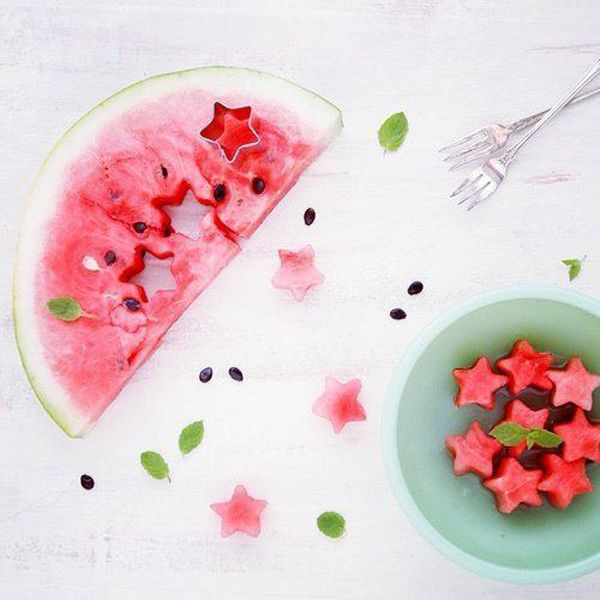 Watermelon stars...refreshing!