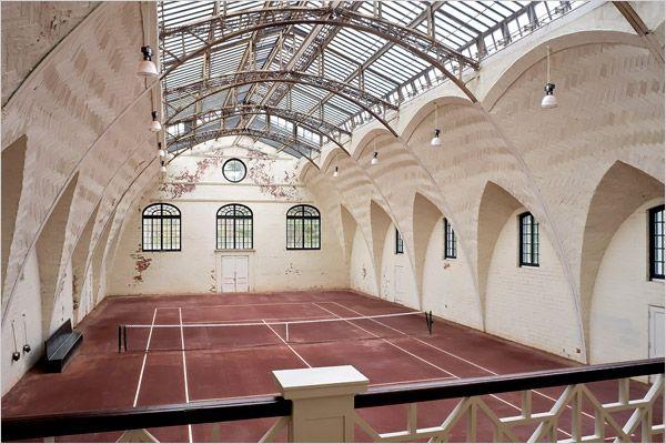 Unique Tennis Courts
