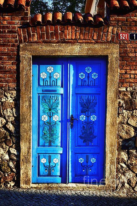 Una molto accogliente # porta