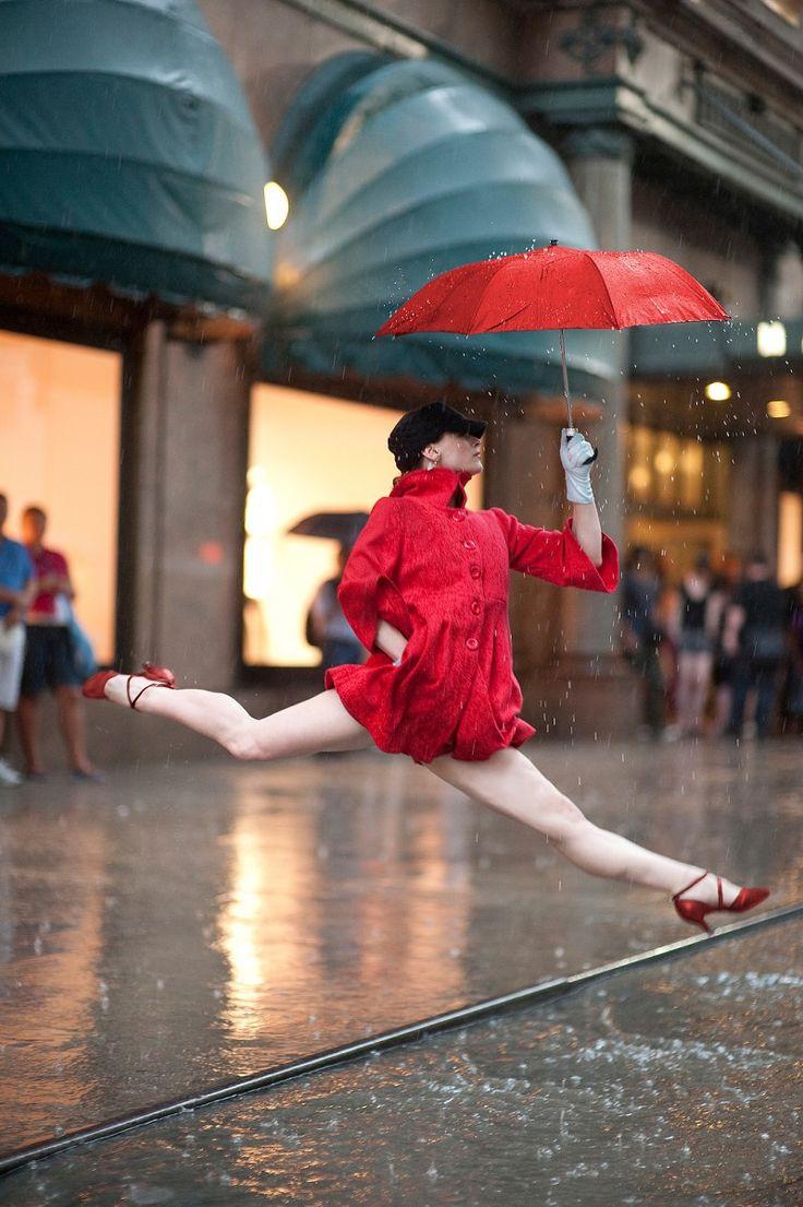 e la danza classica sotto la pioggia?  sempre così freddo