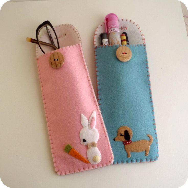 Pencil Case by Gingermelon Dolls
