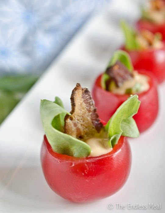 BLT cups!
