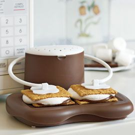 For when you can't get to a real, live campfire fast enough... S'Mores Maker
