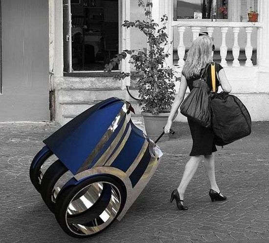 Soleil, el coche maleta