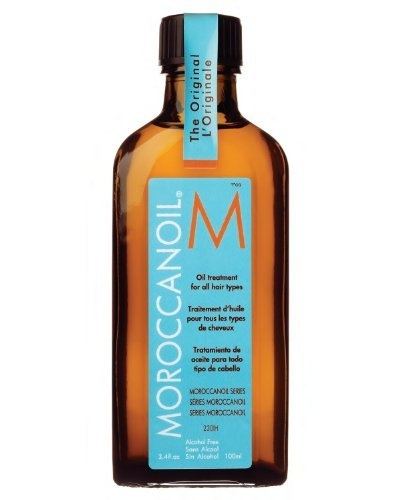 Moroccan Oil Hair Treatment 3.4 Oz Bottle with Blue Box: http://www.amazon.com/Moroccan-Hair-Treatment-Bottle-Blue/dp/B001AO0WCG/?tag=tmw0ee-20
