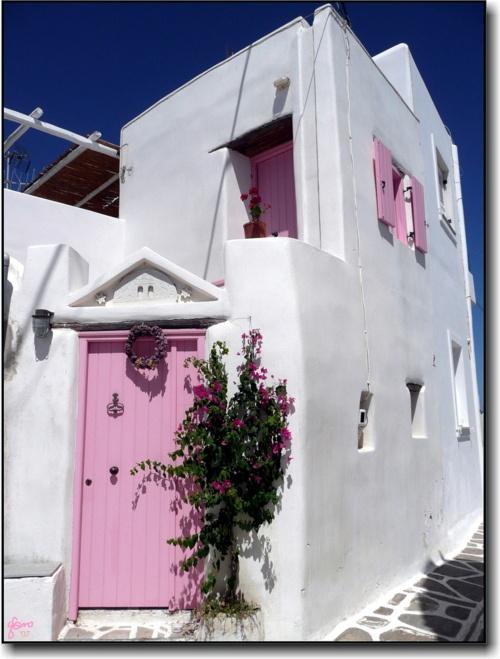 Marpissa village, Paros, Greece