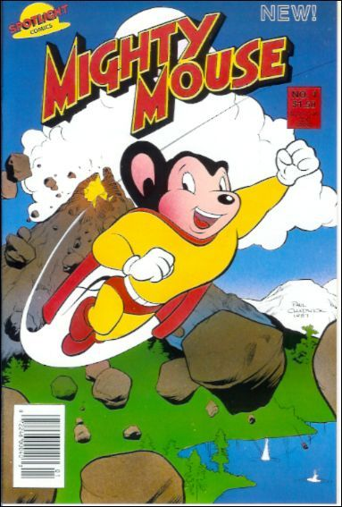 Mighty Mouse by Paul Terry