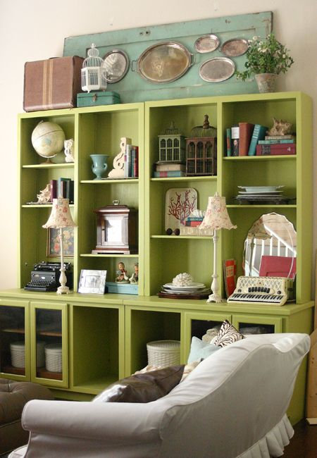 HIGH Five: 5 Tips for Decorating the tops of Bookcases and ...