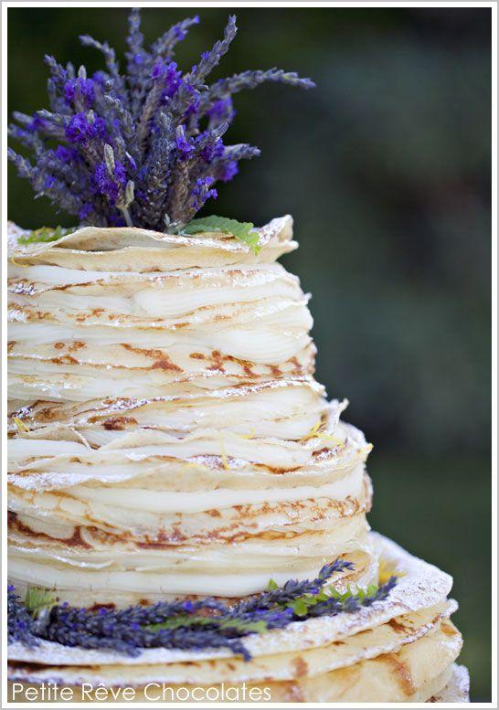 Layered French Crepe Cake