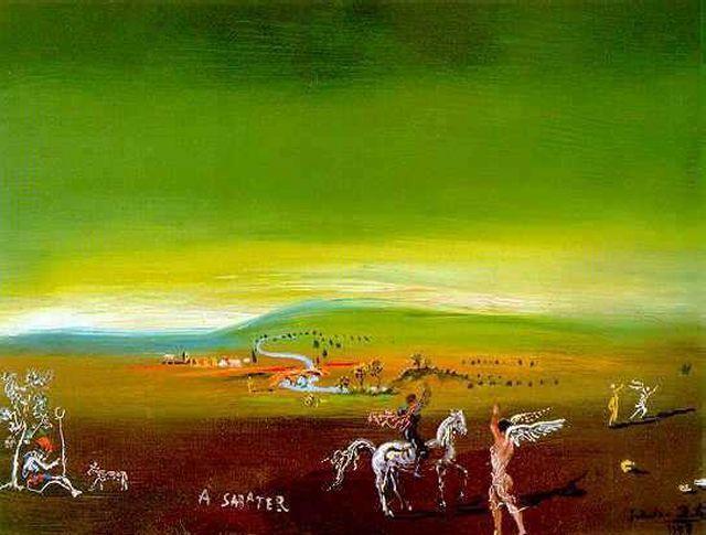 Ampurdanese Landscape, - Salvador Dali - WikiPaintings.org