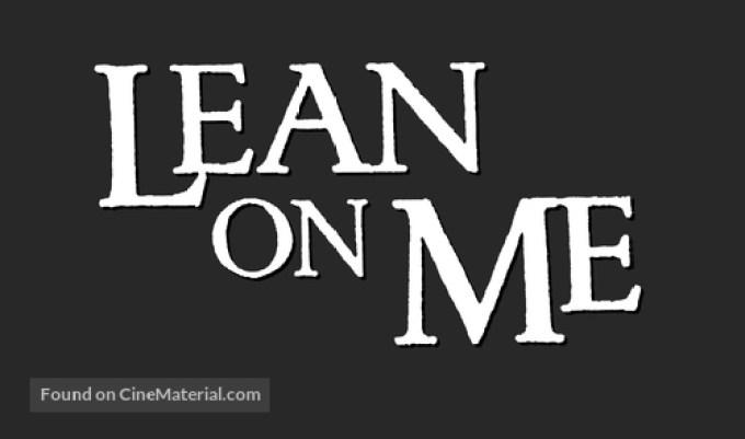 Lean on Me (1989) logo