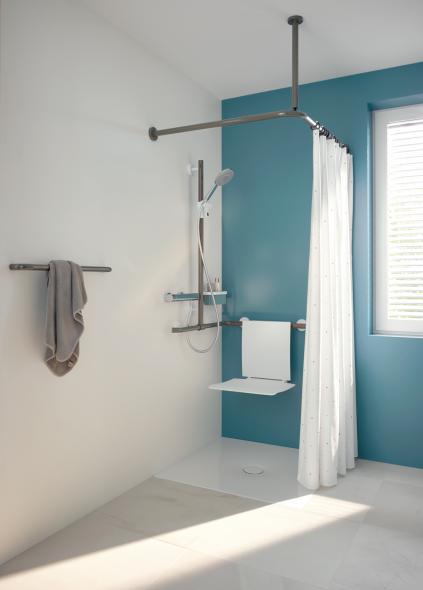 hewi shower curtain rail 801 34 100