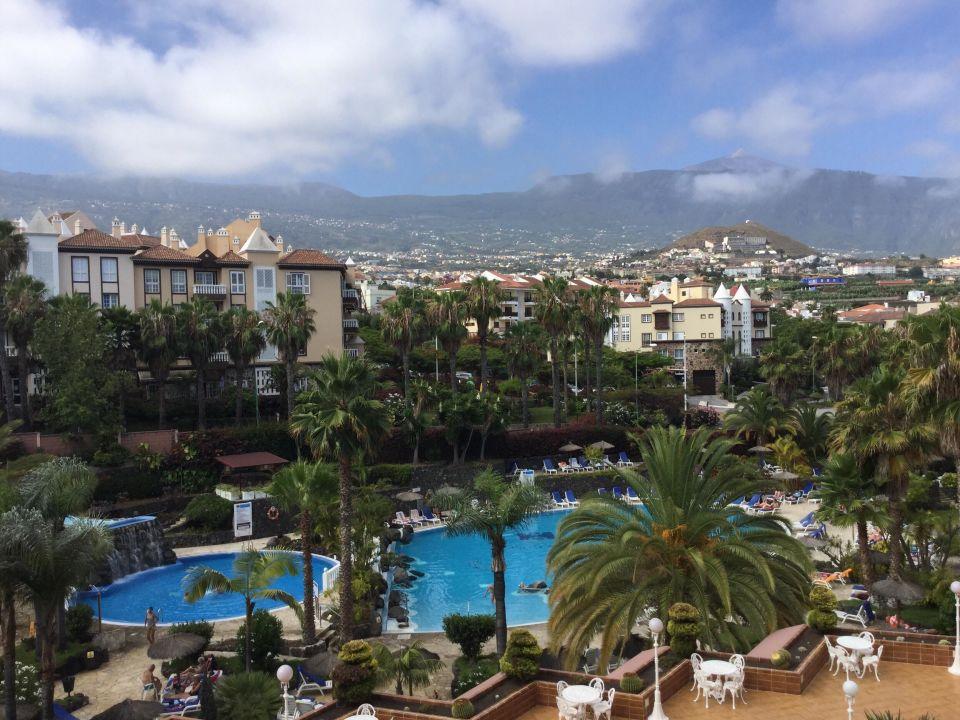 Blick Vom Balkon Hotel Puerto Palace Puerto De La Cruz