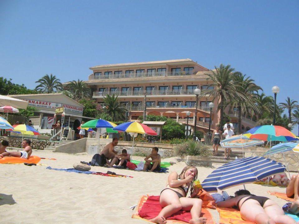 Hotel Von Strand Aus Allsun Hotel Lago Playa Park Cala Ratjada Holidaycheck Mallorca Spanien