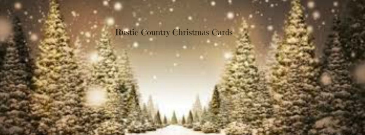 Rustic Country Christmas Cards A Listly List