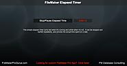 Free FileMaker Example Files | Build a FileMaker Elapsed Timer - FileMakerProGurus | 8/22/16 | FM 12+