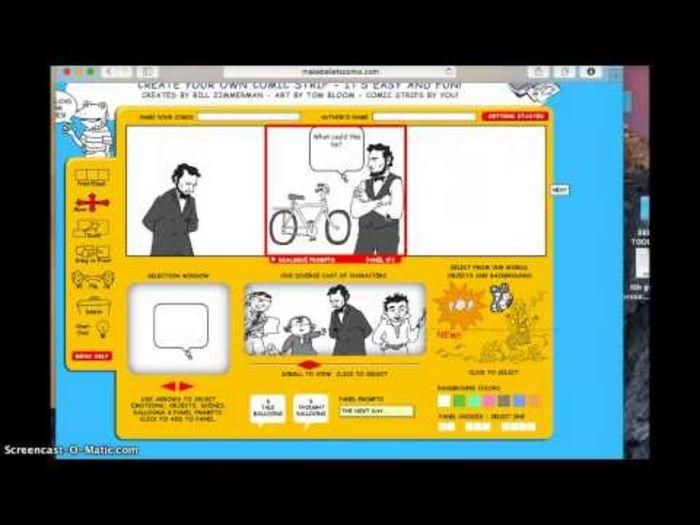 15 Digital Storytelling Tools | Make Beliefs Comix Tutorial
