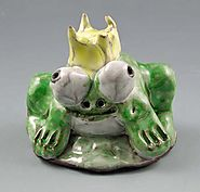 Clay Frog Princes Pinch Pots