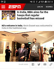 "NBA star Kevin Durant arrives in India wearing a Morrissey ""Boxers"" shirt 