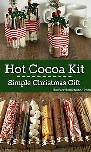Simple Christmas Gift: Homemade Holiday Inspiration