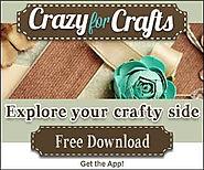 CrazyForCrafts has arts and crafts, craft tools, free craft ideas, craft inspiration, and online craft tools.