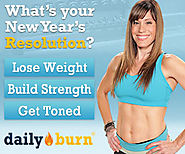 30 Day Trial of Daily Burn just in time for New Year's Resolution