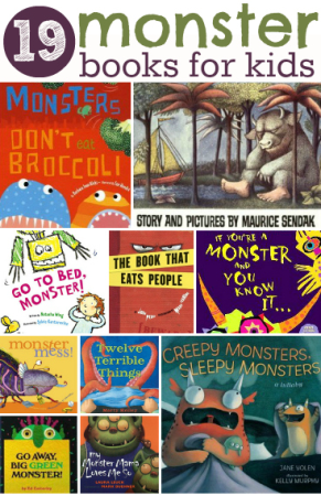 Childrens Books About Monsters A Listly List