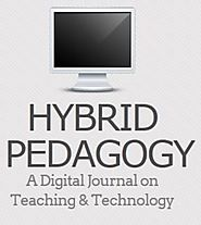 Open Access Journals on Teaching & Learning | Hybrid Pedagogy