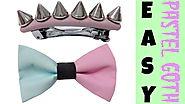 Pastel Goth DIY | EASY Hair Accessories |