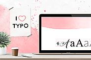Wszystko, co bloger powinien wiedzieć o fontach - My Pink Plum!