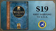 Wordsy: An unabridged tabletop game for 1-6 wordsmiths