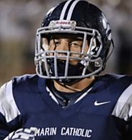 (CA) LB Mack Roesner (Marin Catholic) 6-2, 220