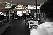 Ecrans, click and collect, appli mobile... Comment Flunch connecte ses restaurants