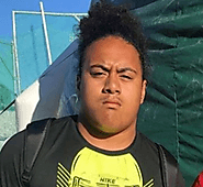 Toni Reed (Valley Christian) 6-3, 265 Soph
