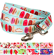 Blueberry Pet Durable Spring Scent Inspired Floral Dog Leash