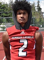 "Lonyatta ""Junior"" Alexander 6-3 175 WR Kennedy Catholic (WA)"