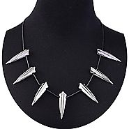 SEVENSTONE Cosplay Marvels Black Panther Wakanda King T'Challa Pendant Necklace for Men Women