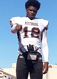 Elijah Roberts (Pittsburg) 6-0, 185