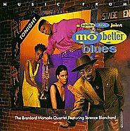4. Mo' Better Blues - Branford Marsalis Quartet, Terence Blanchard (Mo' Better Blues; 1990)