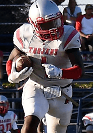RB Jaylen Blacksher (Lincoln) 5-11, 190