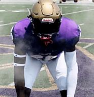 Travis Hall Jr (St. Augustine High School) 6-1, 200