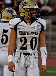 Jake Hadzicki (Del Norte) 6-1, 185