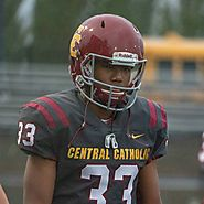 Jalen Ridgeway 6-1 195 WR Central Catholic