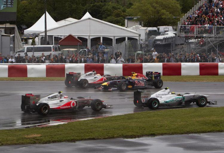 Risultato immagini per start montreal 2011 f1
