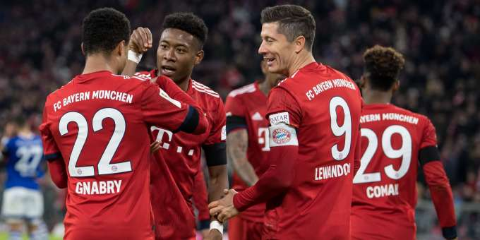 Image result for lewandowski gnabry