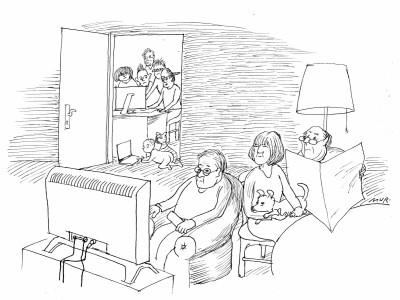 Karikaturist Luis Murschetz wird 85: Leise Entlarvungen